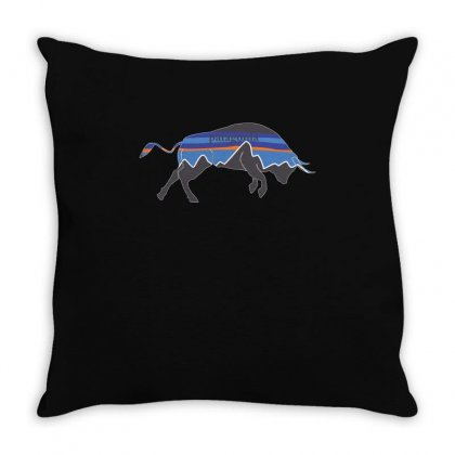 Patagonia Love Shirt Throw Pillow Designed By Hung