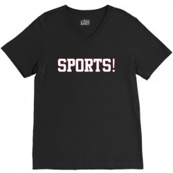 sports! t shirt V-Neck Tee | Artistshot