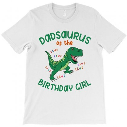 Dadsaurus T-shirt Designed By Artees Artwork
