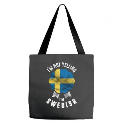 I'm Swedish Tote Bags Designed By Chris Ceconello