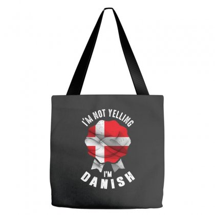 I'm Danish Tote Bags Designed By Chris Ceconello