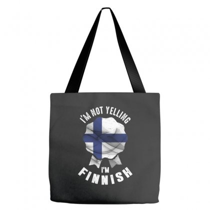 I'm Finnish Tote Bags Designed By Chris Ceconello