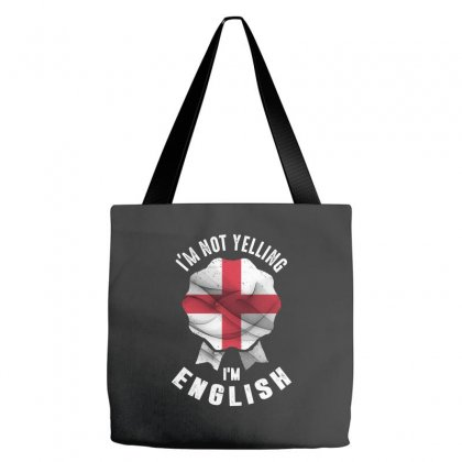 I'm English Tote Bags Designed By Chris Ceconello