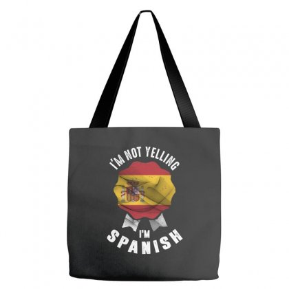 I'm Spanish Tote Bags Designed By Chris Ceconello