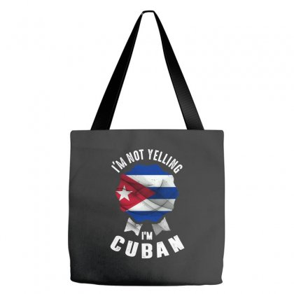 I'm Cuban Tote Bags Designed By Chris Ceconello