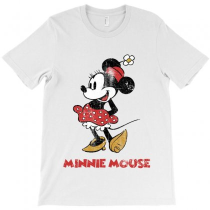 Minnie Mouse T-shirt Designed By Nurbetulk