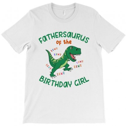 Fathersaurus T-shirt Designed By Artees Artwork