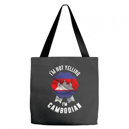 I'm Camboian Tote Bags Designed By Chris Ceconello