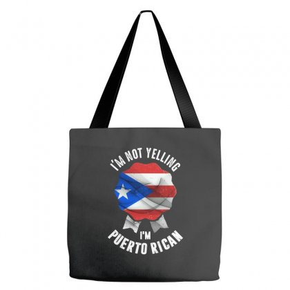 I'm Puerto Rican Tote Bags Designed By Chris Ceconello