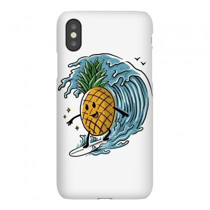 Pineapple Surfing Iphonex Case Designed By Quilimo