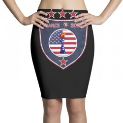 FIFA Women World Cup 2019 Shirt, USA women soccer team in France 2019 Pencil Skirts | Artistshot