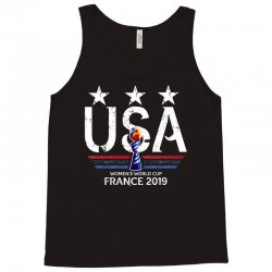 FIFA Women World Cup 2019 Shirt, USA women soccer team in France 2019 Tank Top | Artistshot