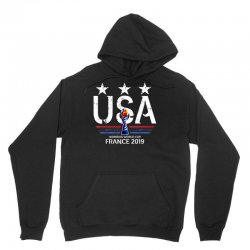 Fifa Women World Cup 2019 Shirt, Usa Women Soccer Team In France 2019 Unisex Hoodie Designed By Vohoangvinh