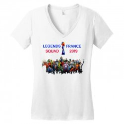 Women World Cup 2019 Shirt, USA women soccer team in France 2019 Women's V-Neck T-Shirt | Artistshot