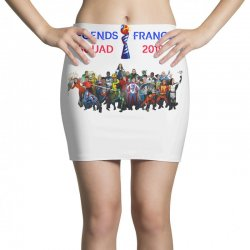 Women World Cup 2019 Shirt, USA women soccer team in France 2019 Mini Skirts | Artistshot