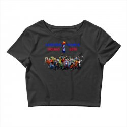 Women World Cup 2019 Shirt, USA women soccer team in France 2019 Crop Top | Artistshot