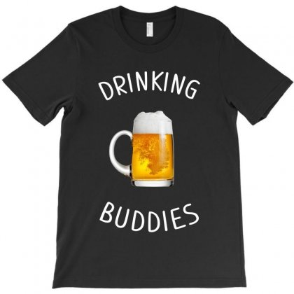 Drinking Buddies Beer Mug T-shirt Designed By Artees Artwork