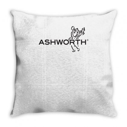 Ashworth Golf Logo Throw Pillow Designed By Teeshop