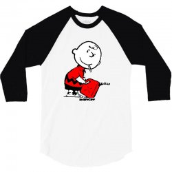 banksy charlie brown firestarter 3/4 Sleeve Shirt | Artistshot