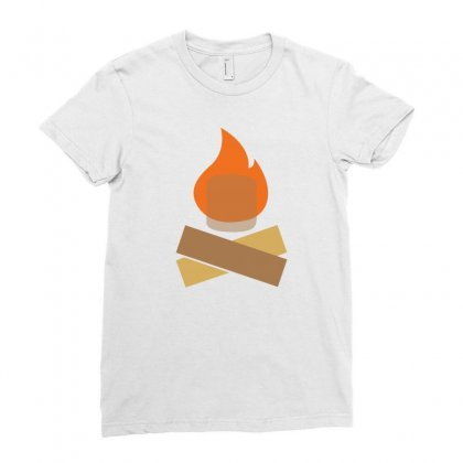 Fire And Cokolate Ladies Fitted T-shirt Designed By Suryanaagus068