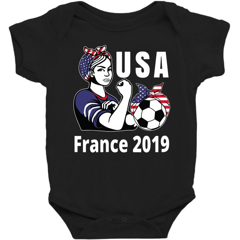 Amazingly Good Products USA Womens Soccer Kit France 2019 Girls Football Fans Unisex Hooded Sweatshirt