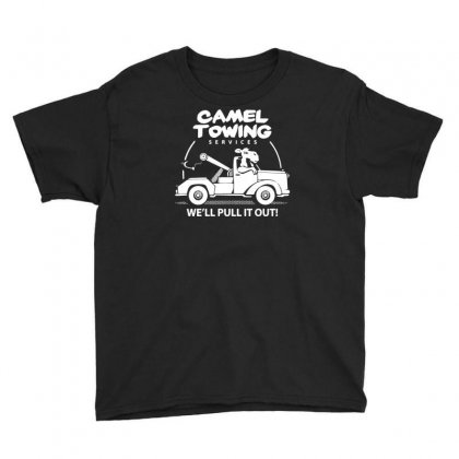 Camel Towing Youth Tee Designed By Ismi