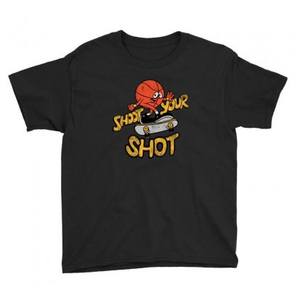 Shot Your Shot Youth Tee Designed By Feniavey