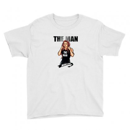 Becky Lynch Logo Youth Tee Designed By Willo