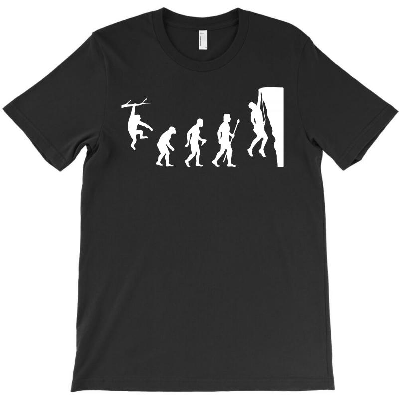 Funny Rock Climbing Evolution T-shirt | Artistshot