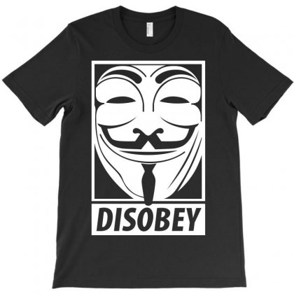 Anonymous Disobey T-shirt Designed By Allentees