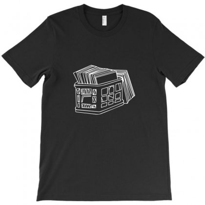 Crate Of Records T-shirt Designed By Enjang
