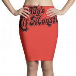 daddy's lil monster harley quinn Pencil Skirts | Artistshot