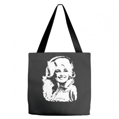 Dolly Parton Distressed Photo Tote Bags Designed By Ismi