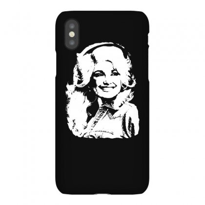 Dolly Parton Distressed Photo Iphonex Case Designed By Ismi