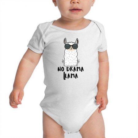 No Drama Llama Baby Bodysuit Limited Edition