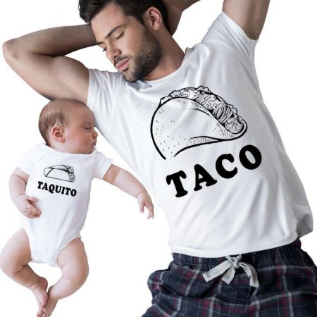 Taco And Taquito Family Matching Shirts