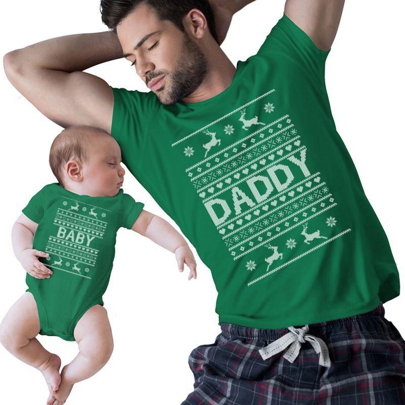 Baby And Daddy Christmas | Artistshot
