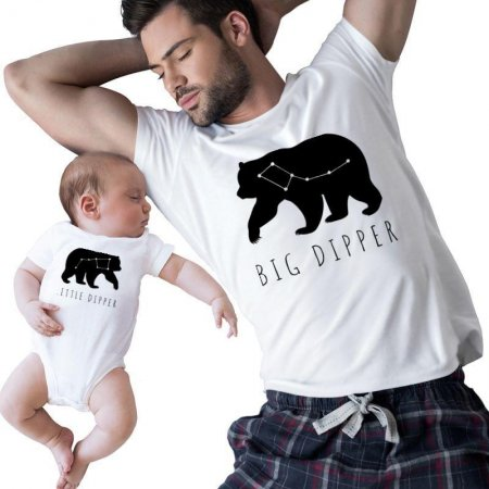 Big Dipper - Little Dipper Family Matching Shirts