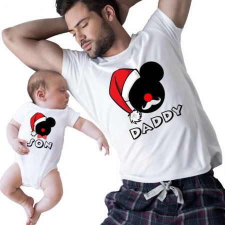 daddy and son family Matching Shirts
