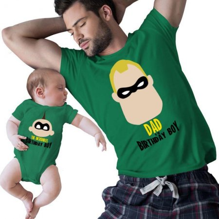 The Incredibles Dad Of The Birthday Boy Matching Shirts