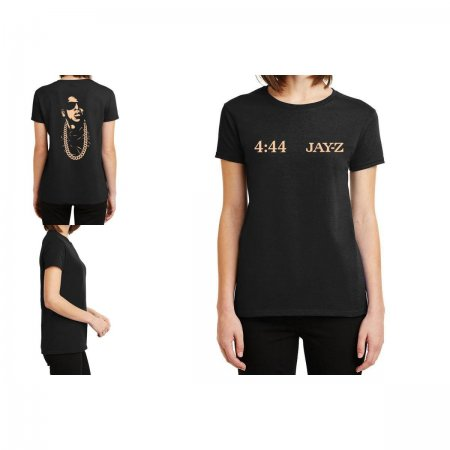 Jay Z 444 Ladies Fitted T-Shirt Limited Edition
