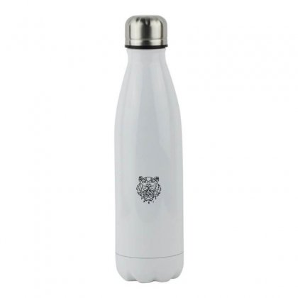 Kenzo Black Tiger Stainless Steel Water Bottle Designed By Meganphoebe