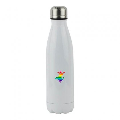 Imagine Pride Stainless Steel Water Bottle Designed By Meganphoebe
