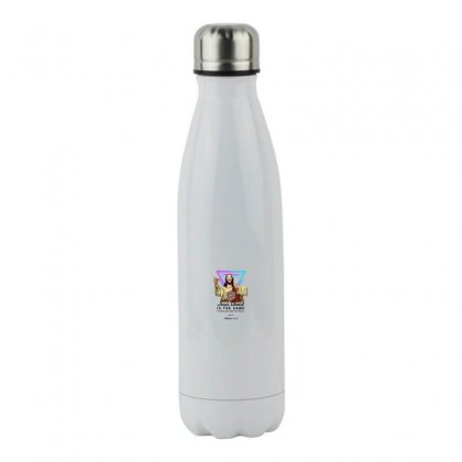 Forever Jesus Stainless Steel Water Bottle Designed By Meganphoebe