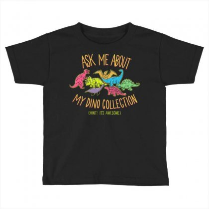 Dino Collection Toddler T-shirt Designed By B4en1