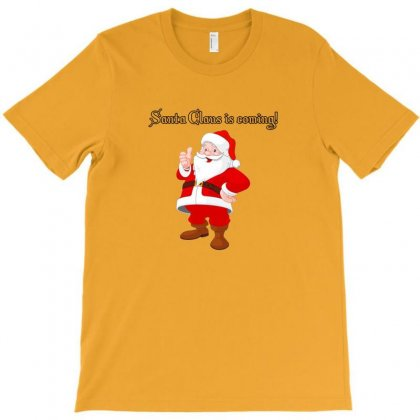 Christmas Is Coming T-shirt Designed By Arum