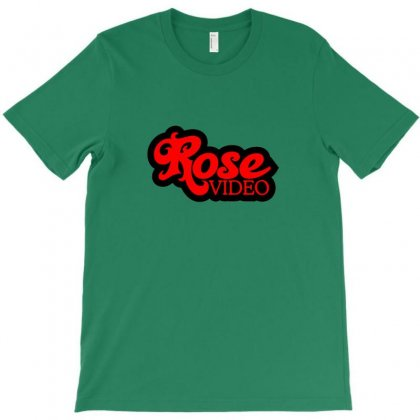 Rose Video Logo T-shirt Designed By Arum