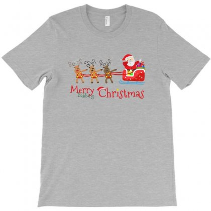 Dabbing Santa T-shirt Designed By Arum
