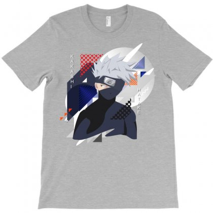 Kakashi T-shirt Designed By Colle-q