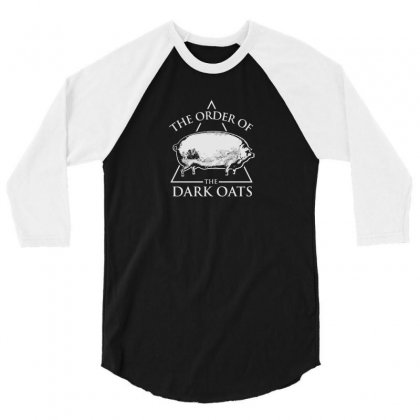 Earlier Version Of The Order Of The Dark Oats Pig Brother 3/4 Sleeve Shirt Designed By B4en1
